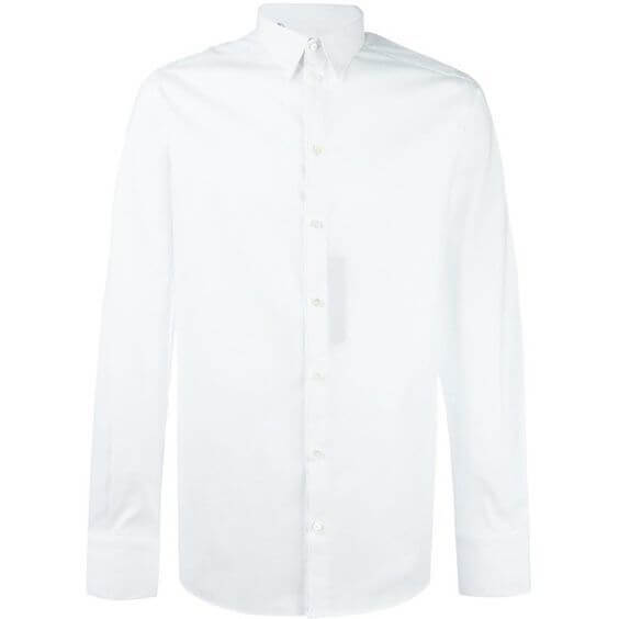 Classic Mens White Shirt from the 6 Wardrobe Essentials
