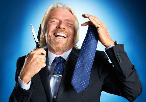 Richard Branson - Stylist Advice