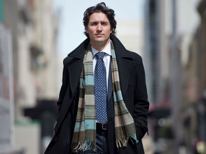 Justin Trudeau dress style
