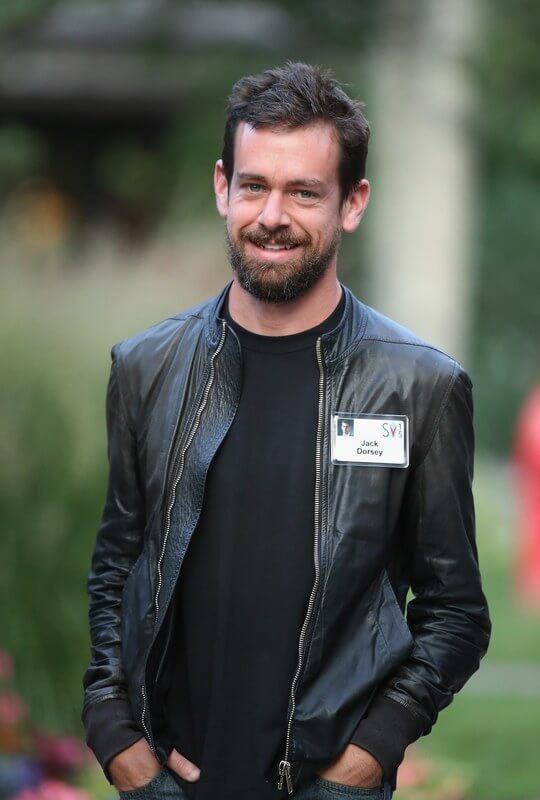Jack Dorsey and his leather jacket