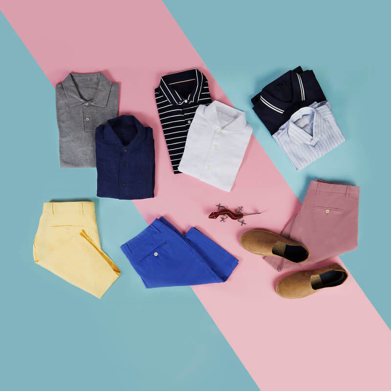 Colours to match with Colourful Shorts