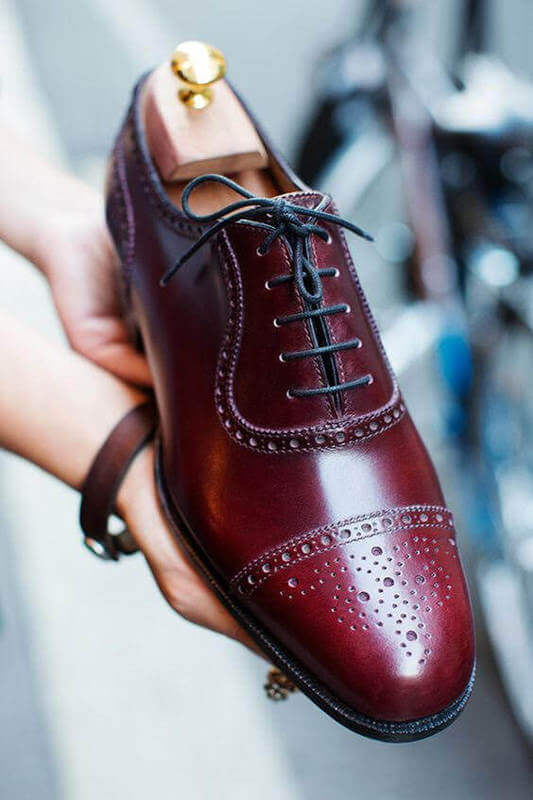 brogues selection from personal stylist