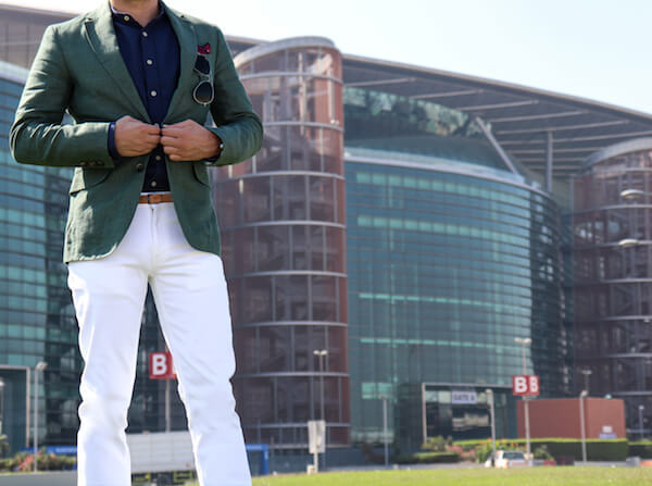 What to wear for men at the Dubai World Cup