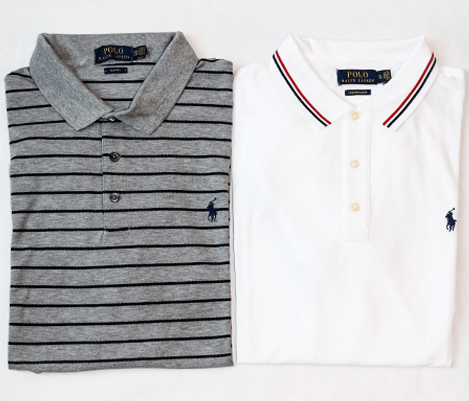 Ralph Lauren Polo Shirts with details