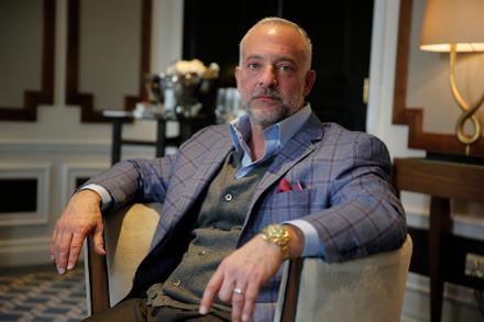 Lorenzo Fertitta dress style personal stylist