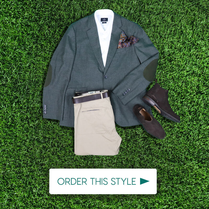 Dubai World Cup Mens Outift Champion Style