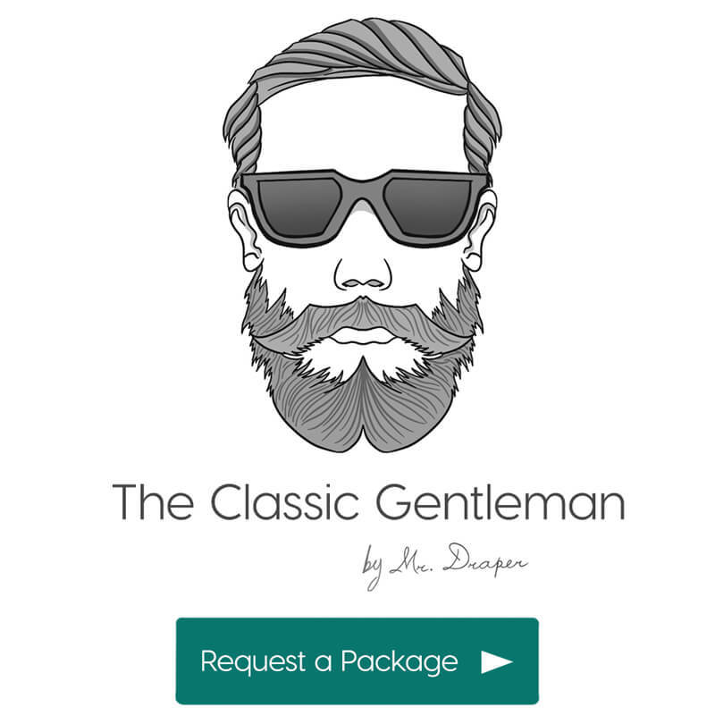 The Classic Gentleman style by Mr. Draper, the mens personal styling service for men in the UAE