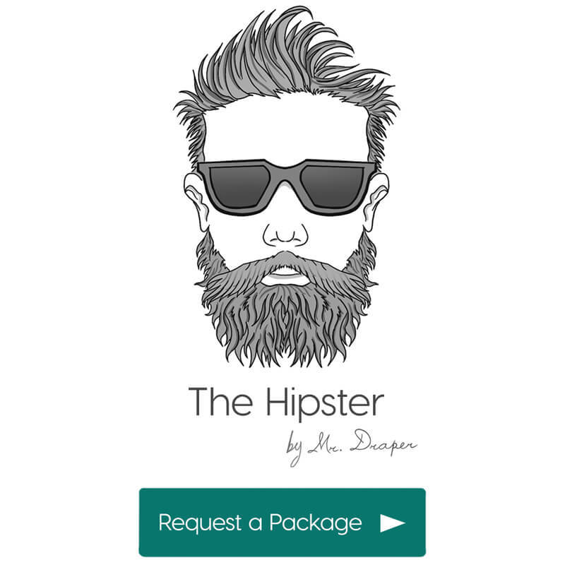 The Hipster style by Mr. Draper, the mens personal styling service for men in the UAE