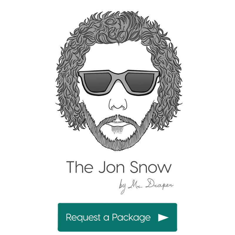 The Jon Snow style by Mr. Draper, the mens personal styling service for men in the UAE